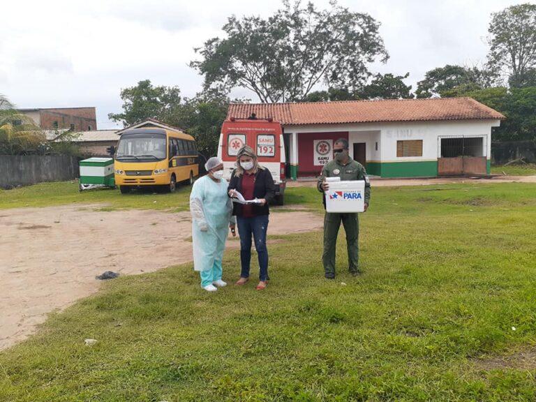 Curuá recebe 140 doses de vacina