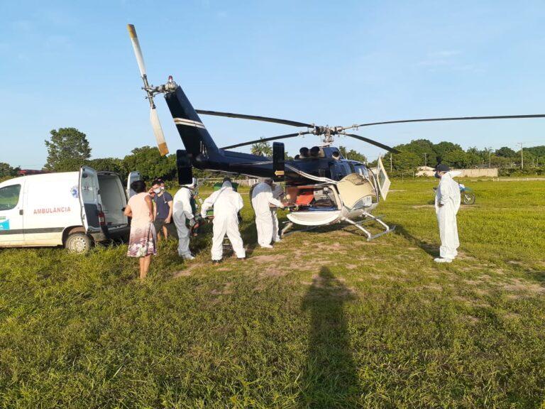 Pacientes transferidos para Itaituba