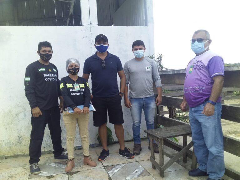 Visita técnica às instalações do Matadouro municipal