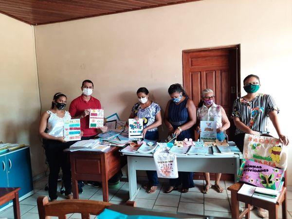Professoras da Educação Especial apresentam cronograma de trabalho do desenvolvimento de atividades não presenciais