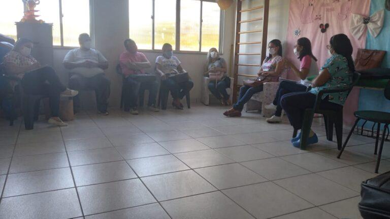 Prefeito Gica reúne com Secretarias de Saúde, Assistência Social e Saúde