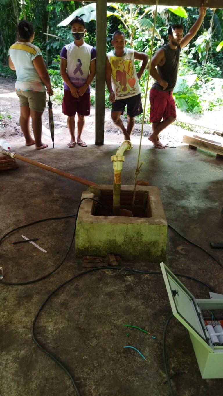 SEMITS realiza manutenção do sistema de água do Centro de Saúde do Centrinho e Apolinário