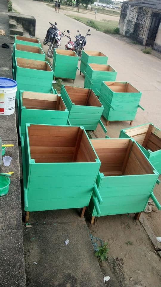 SEMMA realiza parceria com serrarias e movelarias para instalar lixeiras de madeira