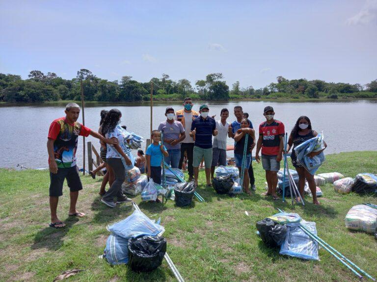PMC realiza entrega de cestas básicas à famílias atingidas pela cheia dos rios