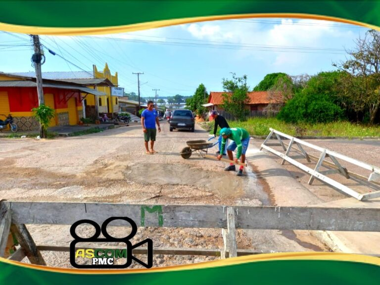 Secretaria de Infraestrutura continua o trabalho de recuperação de vias urbanas